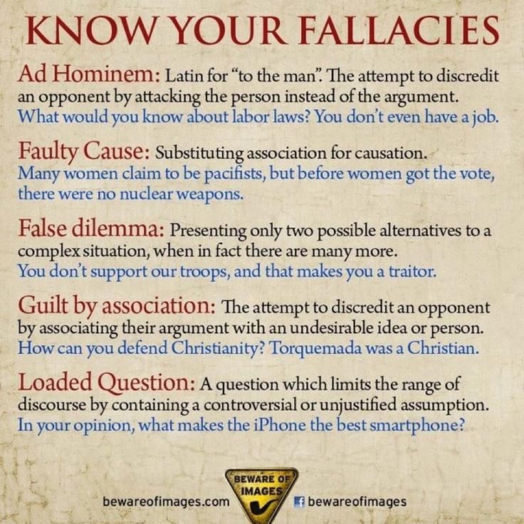 List of fallacies - Wikipedia, the free encyclopedia
