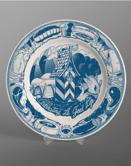 Mcbess - Good Life - Plate