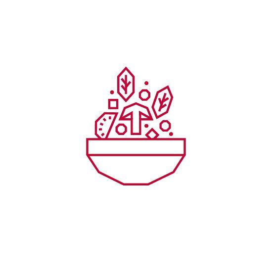 Jasmin restaurant icons - Hungry studio