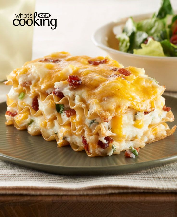 Easy Pierogi Casserole #recipe - Pierogies are heartwarming, rib-sticking dumplings filled with cheese, onions, bacon and potatoes. Typically taking all day to make, this time-saving version produces just-as-delicious results. Tap or click photo for recipe.