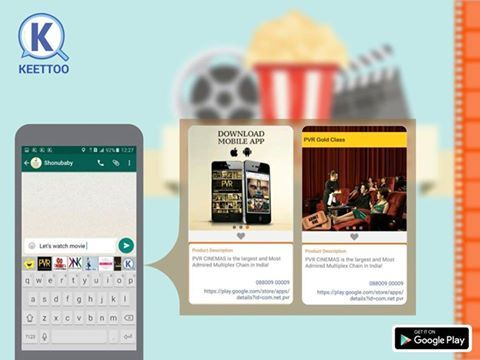 Latest offers of PVR Cinemas & Connect through KEETTOO #MobiKwik #KEETTOO #App #Download #Android #Cashback #PVR #MobiKwik #Offers #Redeem #Enjoy #Fun — with OYO, Johnson Watch Company, PVR CINEMAS, Spaze Group, BBT, Daawat Rice, Hazoorilal By Sandeep Narang at Hazoorilal Jewellers GK-1, Looks Salon, Hunger Station, VI JOHN Group and The BrewMaster Delhi.