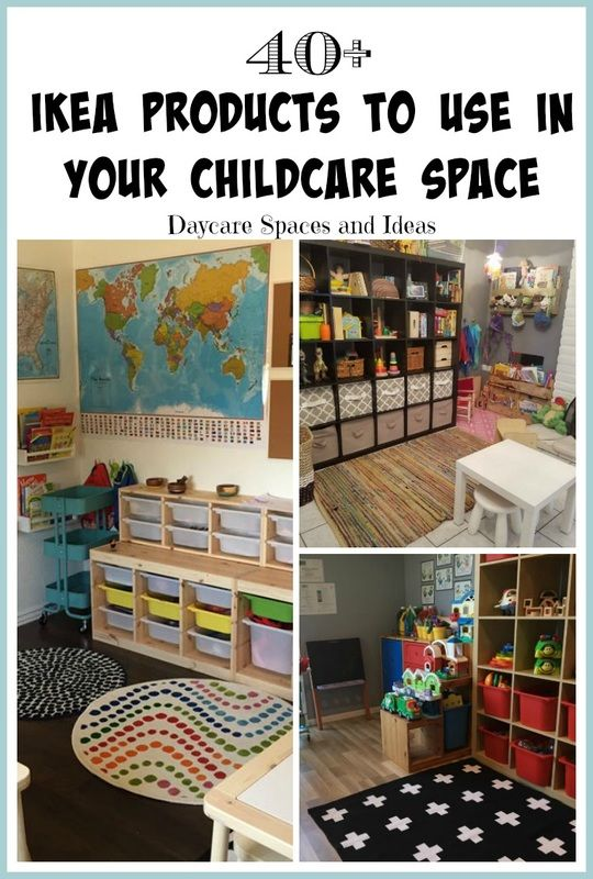 Over 40 IKEA products to use in your Childcare Space!