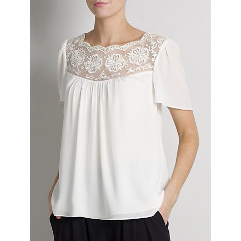 Buy Somerset by Alice Temperley Embroidered Blouse Online at johnlewis.com