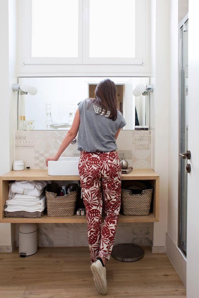 Dénichez de nouvelles idées déco en découvrant l'intérieur de l'appartement de Laetitia. Paris, 3ème.