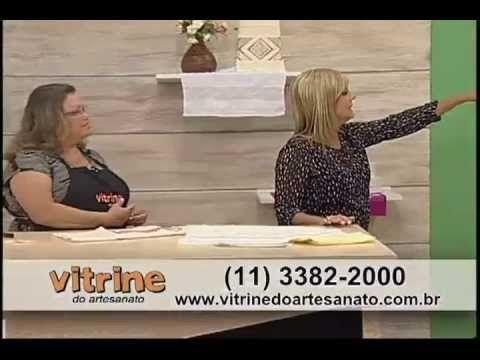 Ponto Crivo com Leila Jacob - Vitrine do Artesanato na TV