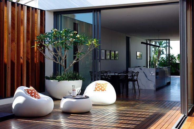 Incorporated courtyard