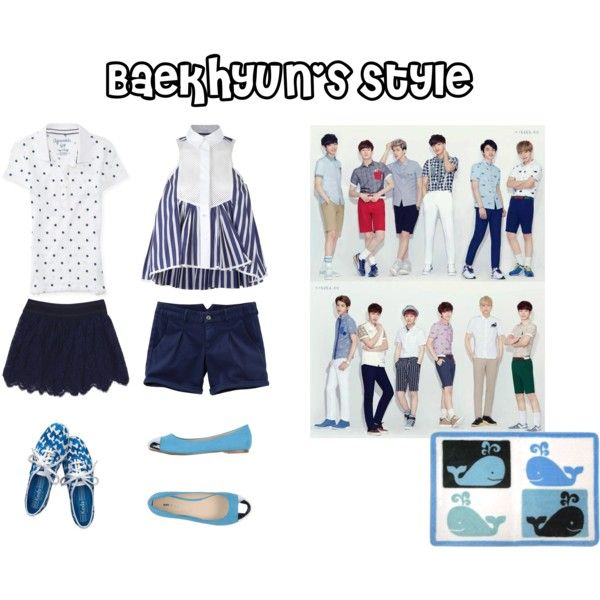 EXO Ivy Club Baekhyun Inspired Outfit by nanrelladu on Polyvore featuring Aéropostale, Sacai, Milly, Hollister Co. and Allure Home Creation