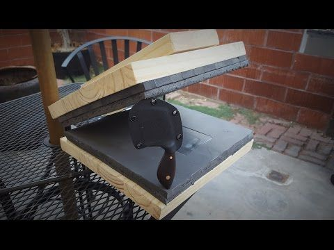 Making a $21 Kydex Press (And my first kydex sheath)
