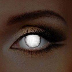White Screen UV i-Glow Halloween Coloured Contact Lenses (1 Year)