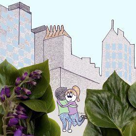 Ultimissime dall'orto: intervista a isaBella protagonista di una storia d'amore (e non solo) tra parole e e disegni petalosi #flowers #illustration