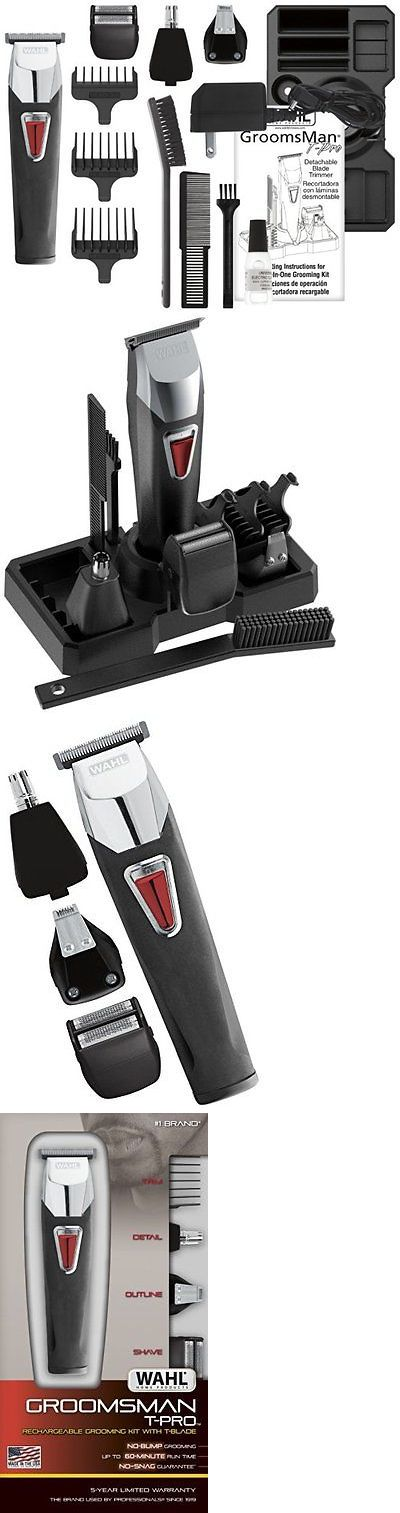 Shaving and Grooming Kits and Sets: Complete Mens Grooming Hair Shaving Beard Mustache Precision Trimmer Kit Body BUY IT NOW ONLY: $32.29
