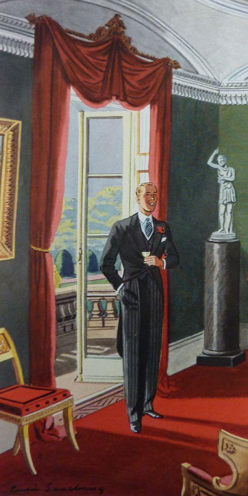 Morning Coat in the 1930's by Leslie Saalburg