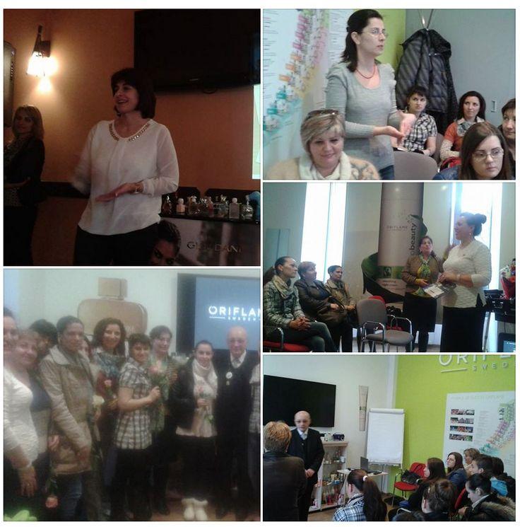 Romanian Sarpio leaders launching C 4 catalogue By: Silvia Sandu