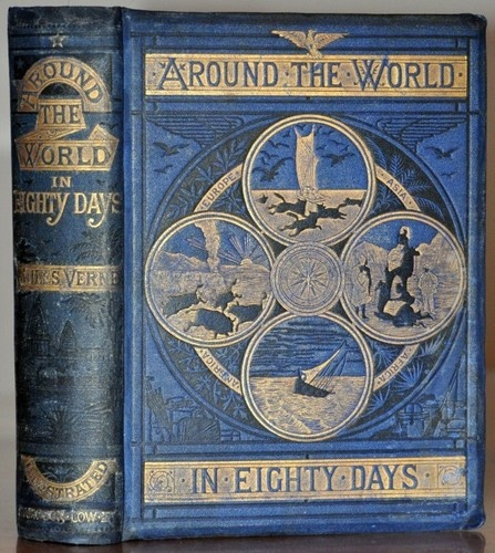 1874 1st 1st samson low edition around the world in eighty. Black Bedroom Furniture Sets. Home Design Ideas