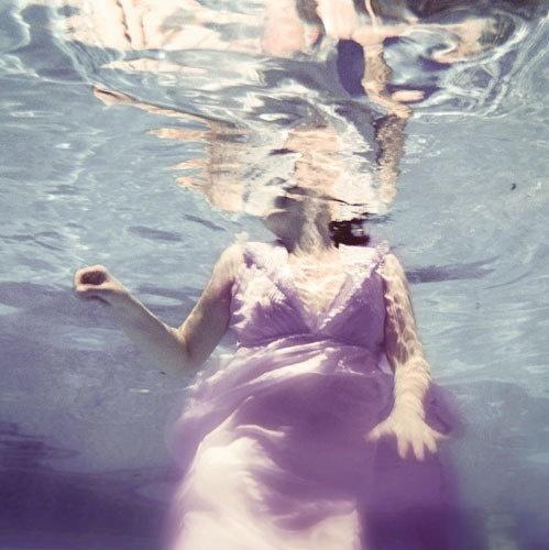 12x12 Underwater Photography  Dive 8x8Print  violet blue by ellemoss, $45.00