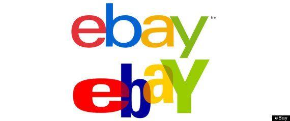 New #Ebay Logo. Hmmmm. Should have gone further with the change. Thoughts? #Logos #Design: Ebay Logos, Logos Design