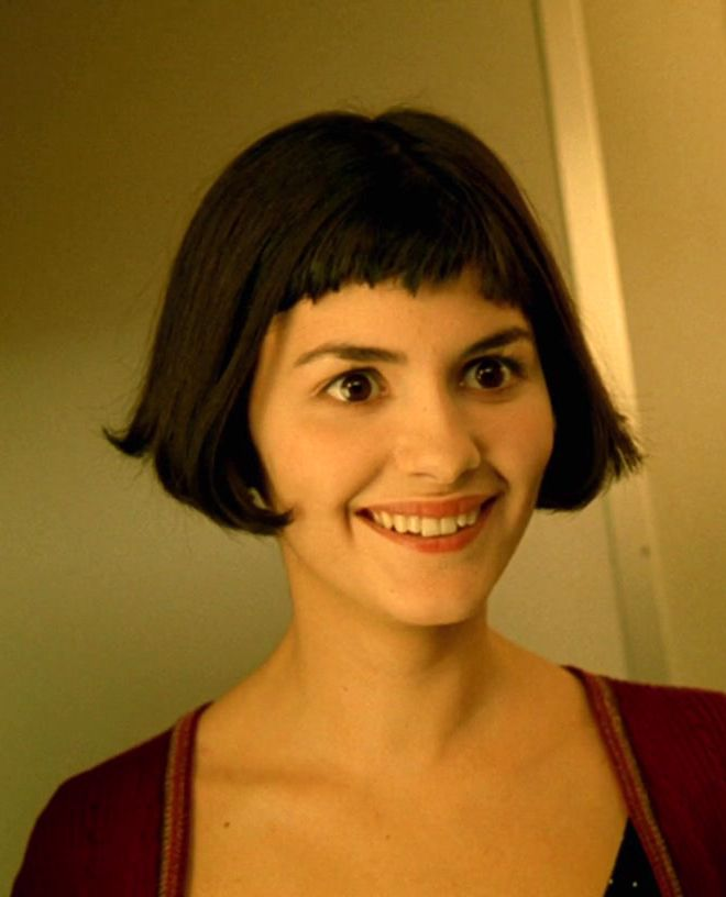 Audrey Tautou as Amélie - this will always be one of my favourite haircuts