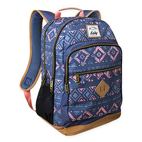 Kelty® Trailhead Tribal Print Backpack in Blue, Perfect for Work, School, Travel, or Gym, Fits Tablet or Small Laptop -  http://www.wahmmo.com/kelty-trailhead-tribal-print-backpack-in-blue-perfect-for-work-school-travel-or-gym-fits-tablet-or-small-laptop/ -  - WAHMMO