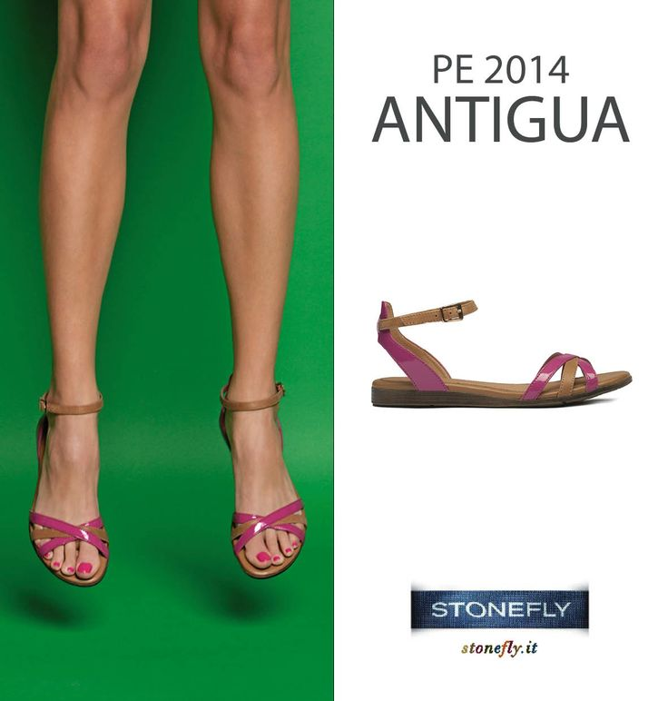 Antigua: ultra flat sandals
