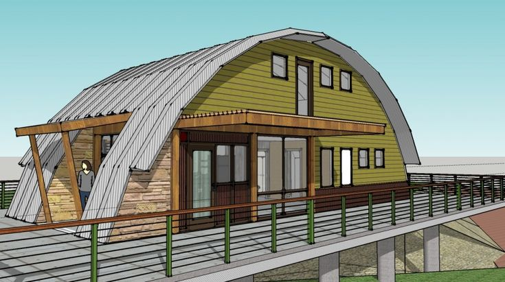 143 best images about quonset hut homes on pinterest for Metal building cabin kits