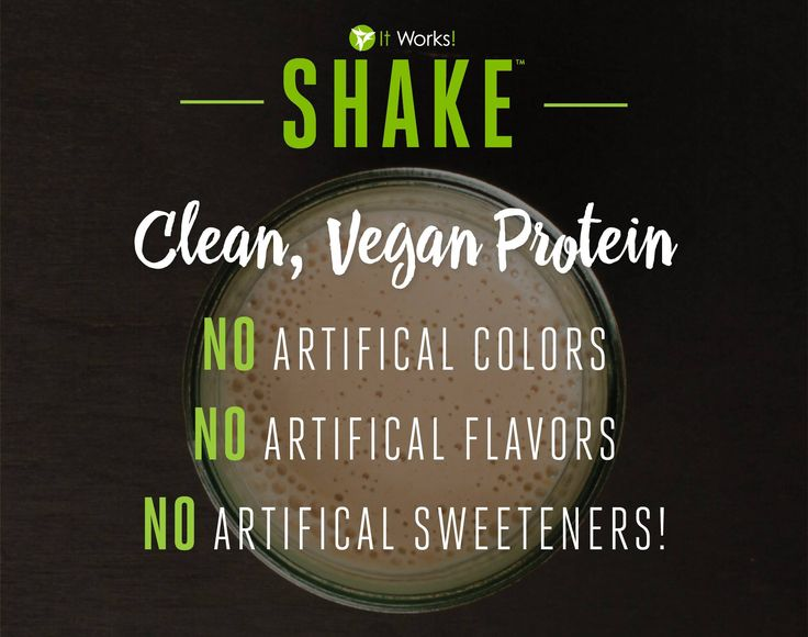 We're helping you keep your health goals clean and simple with the It Works! Shake!