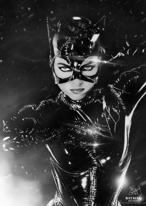 Michelle Pfeiffer as Catwoman in Batman Returns (1992)