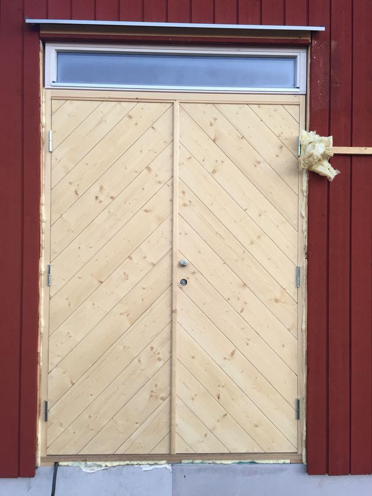 Version of the Arvesund door - It will be green