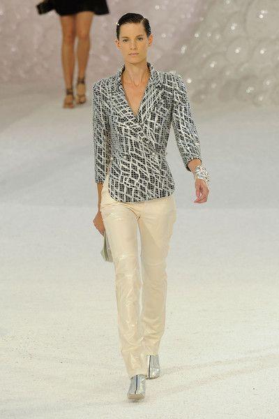 Chanel at Paris Fashion Week Spring 2012