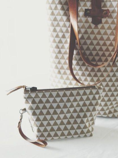 Linen bag & pouch