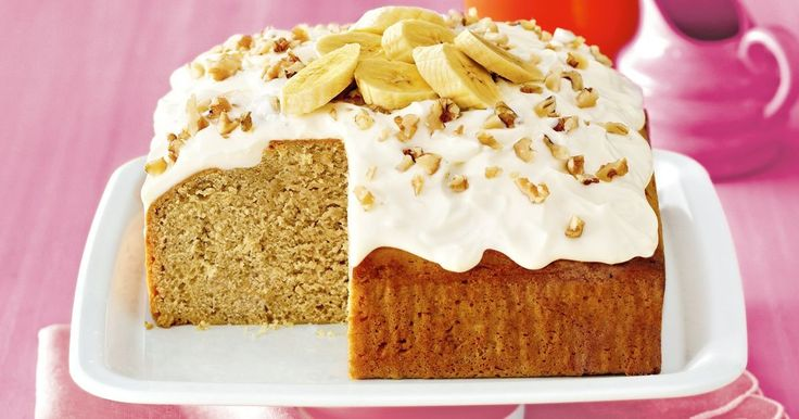 So simple – just mix, bake and enjoy our healthy twist on a classic banana cake.