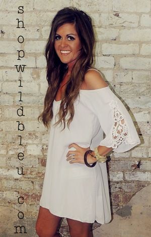 Ivory n Crochet Dress (s,m,l) $47.00