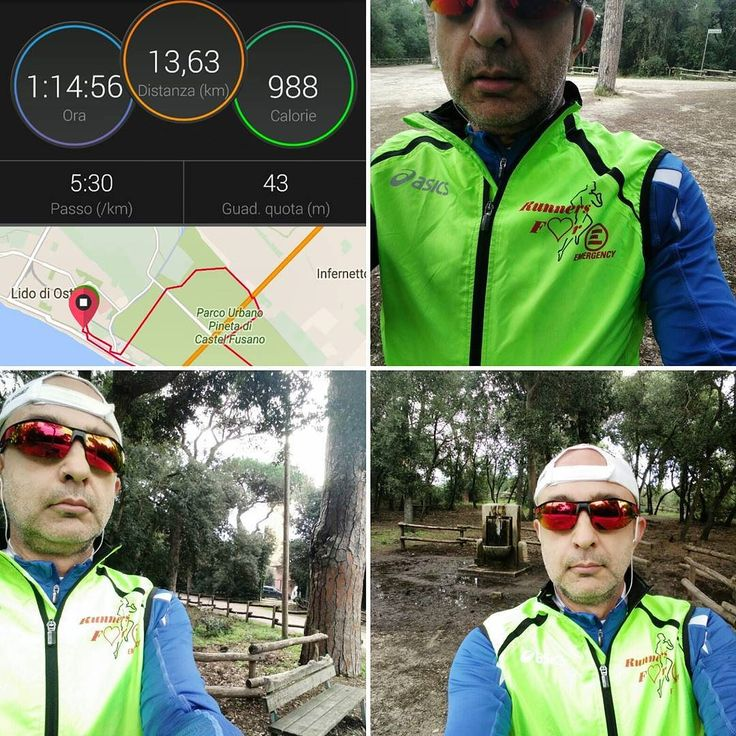 Scarico lento (post 3 Comuni)... #running #IoCorroQui #IRunHere #IRunRome #pinetadicastelfusano