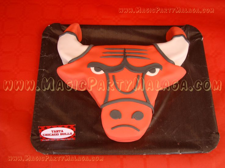 Tarta de los Chicago Bulls - Chicago Bulls cake