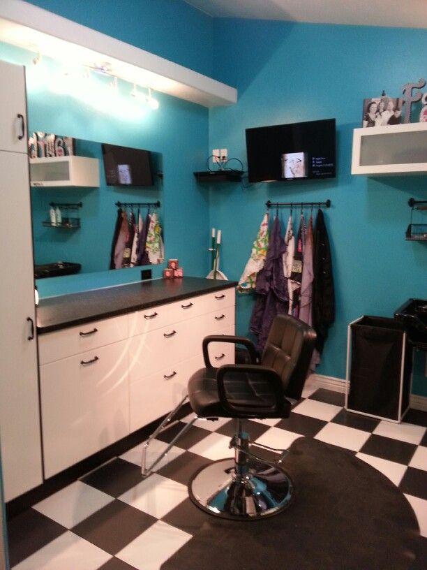 In home salon......love it!!!