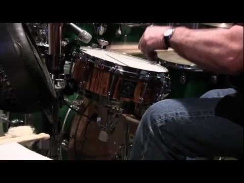 "Outlaw Drums Sound Samples - 5""x14"" Snare Drum - Medium Tuning"