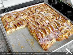 kalorienarmer Apfelkuchen (Weight Watcher)