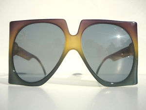 36e94ab24c84 Super Oversized Vintage 70 s Christian Dior Sunglasses---oh those 70s!  Always over the top!