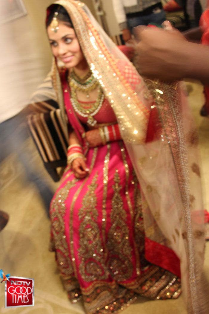 Sabyasachi and the team of experts from Band Baaja Bride help transform this Delhi girl into a resplendent Punjabi bride