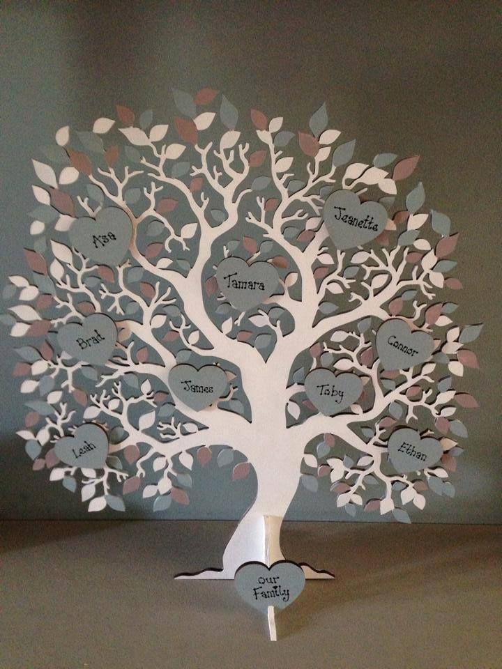 Family Tree Apex Laser Craft Pixiebitz Sena Pinterest