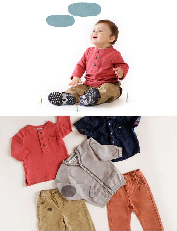 Polera manga larga botones, camisa mezclilla, chaleco gris con codera, pantalón beige, jeans color. https://www.facebook.com/ComunidadOpaline