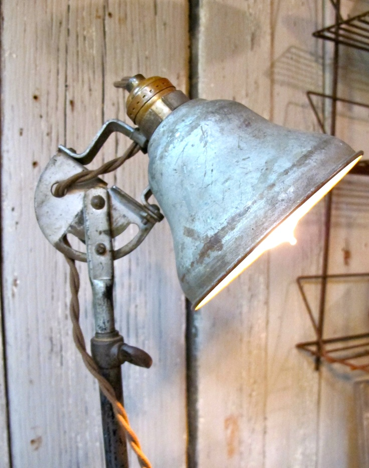 Really cool industrial lamp