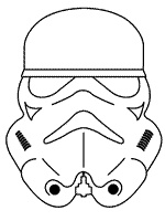starwars maskers it wars colouring pages