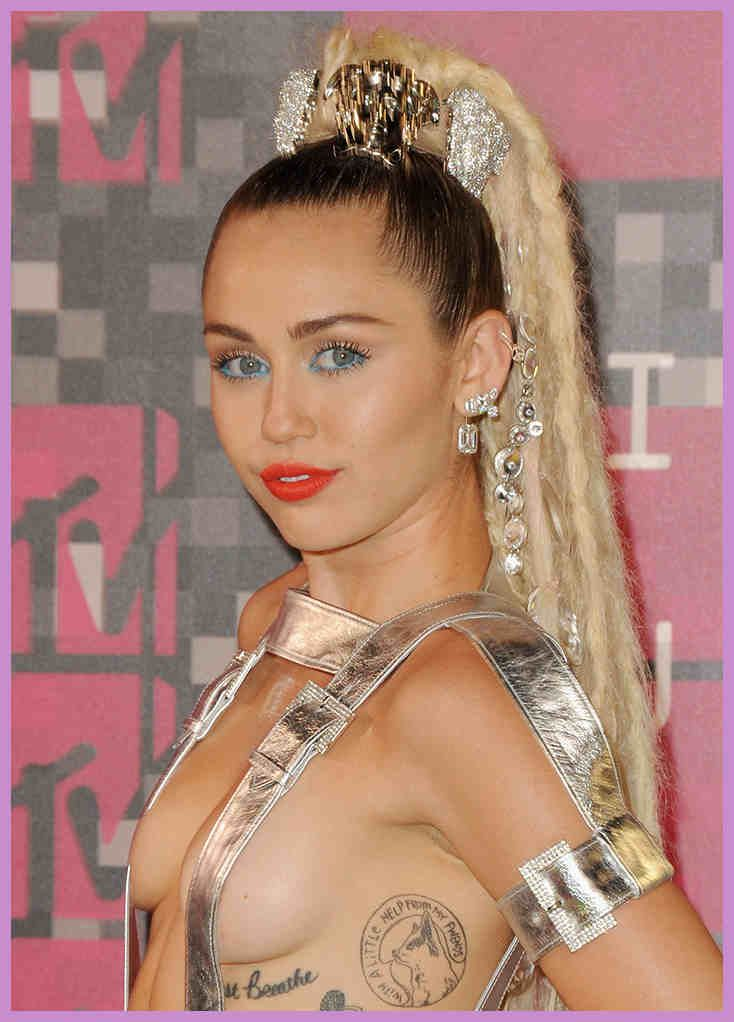 The Beauty Evolution of Miley Cyrus