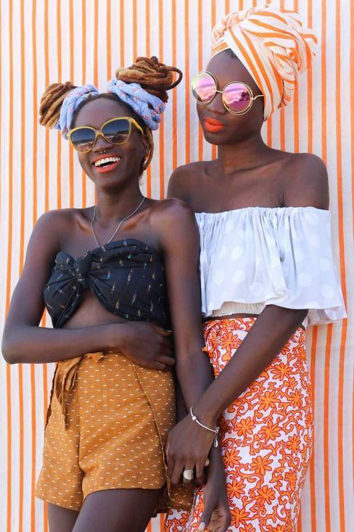 blackandkillingit:  somethingunknown:  Photo by Jéferson Lima  BGKI - the #1 website to view fashionable & stylish black girls shopBGKI today