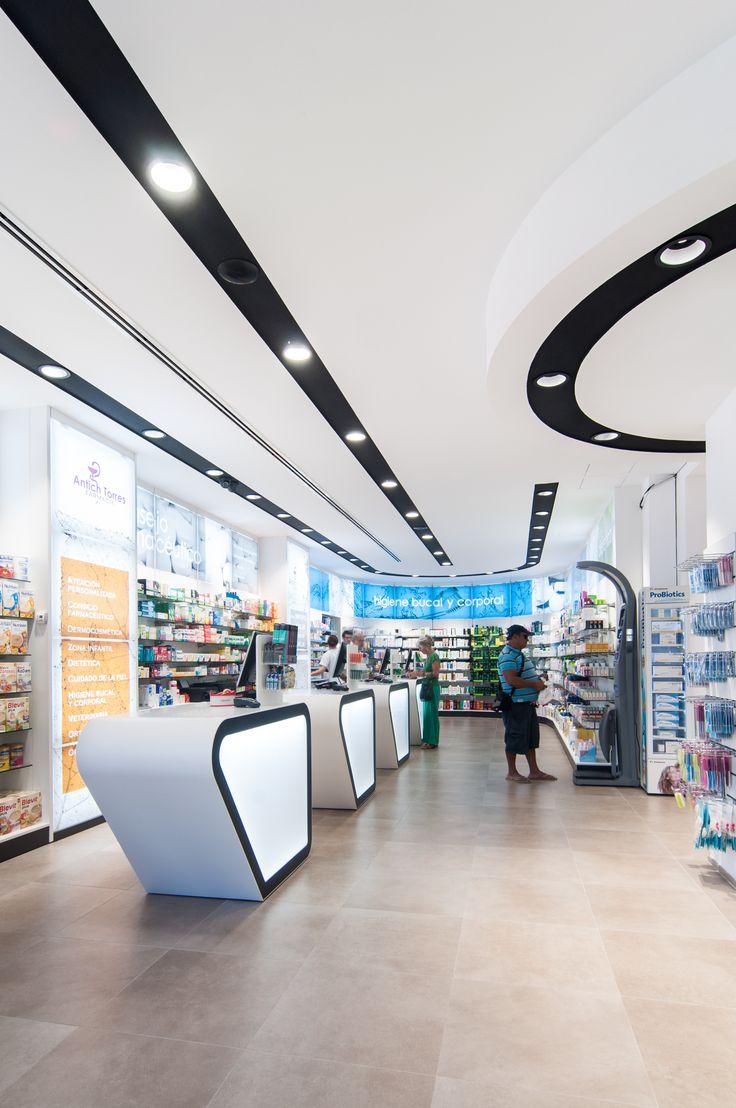 www.concep.es Diseño de Farmacias. Pharmacy design . Drug store design.