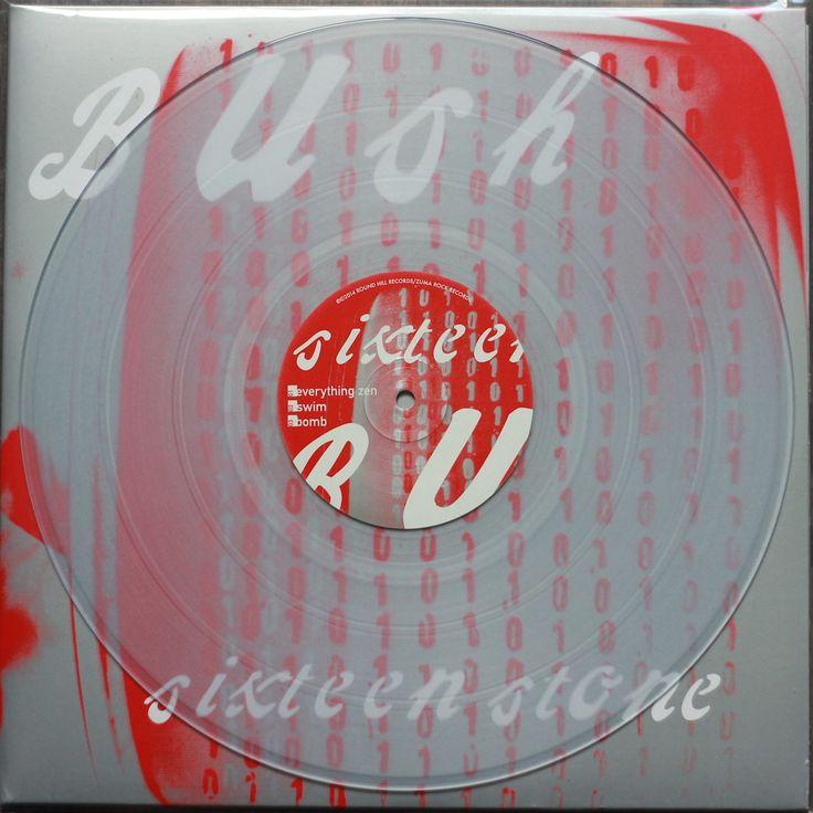 Bush - Sixteen Stone (clear white double LP)