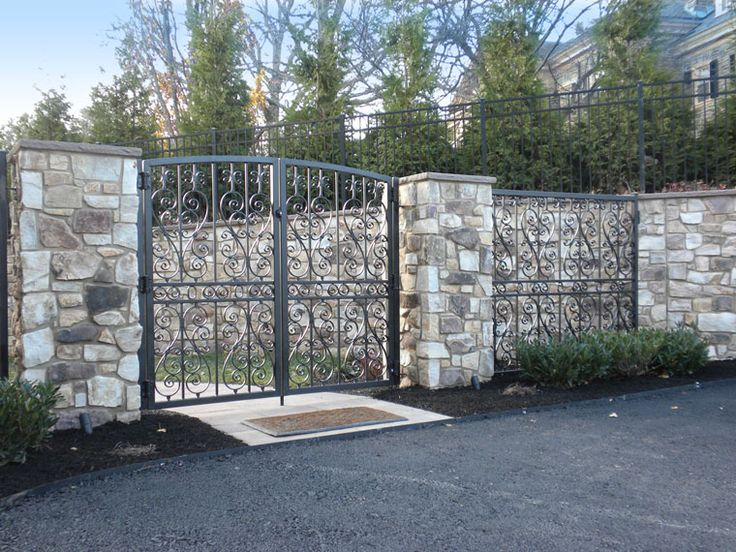 Stone Gate Pillars : Stone columns natural gate pillars projects to