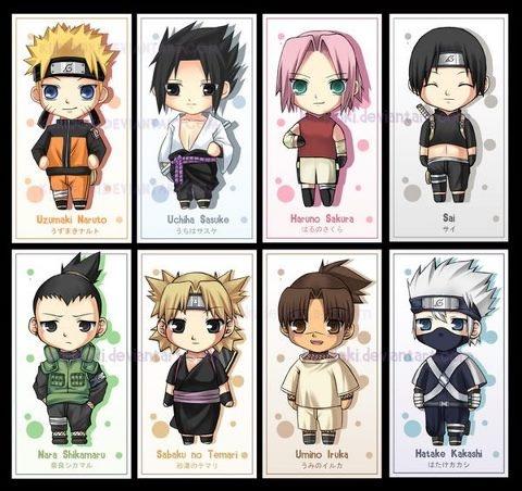 Chibi Naruto Characters, why so cute?! Kakashi!   cartoon ...