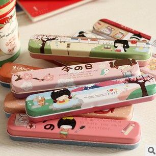fashion stationary pencil case cheap price wholesale $0.2~$1