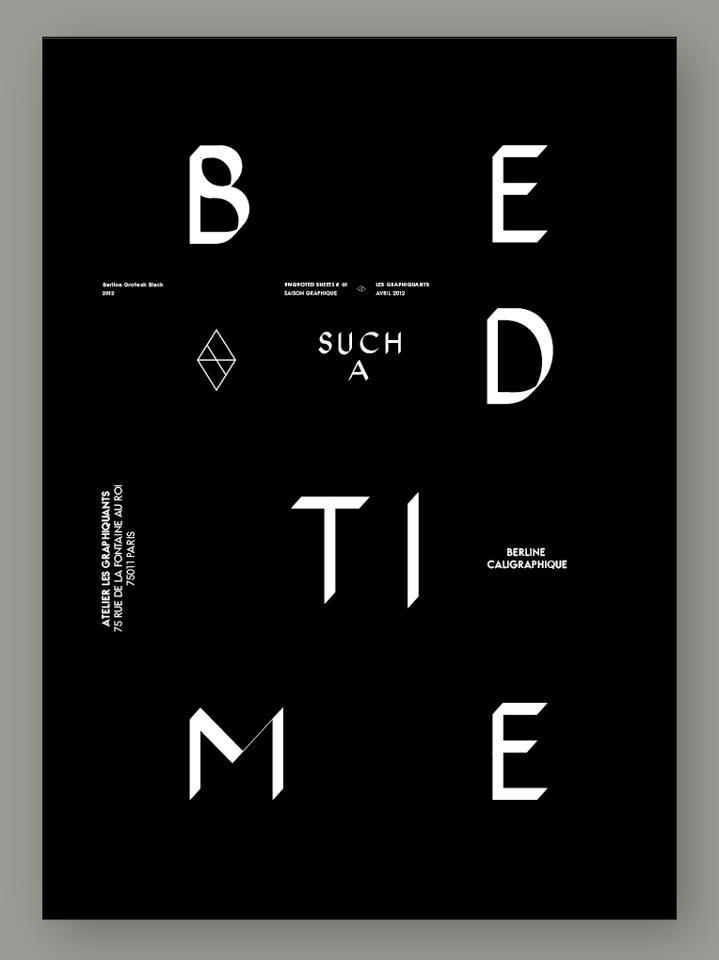 BERLINE/Les Graphiquants: Berlin L Graphiqu, Front Layout, Graphicdesign, Graphics Design, Graphics Front, Poster Typography, Typography Ish, Poster Choice, Poster Power